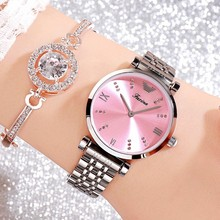 Top Brand Women Watches Fashion Rose Gold Dress Watch Stainless Steel Casual Ladies relogio feminino