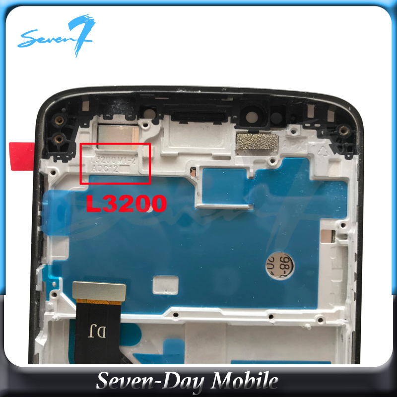 100 test LCD Screen For Motorola Moto E5 Plus LCD Display With Touch Screen Assembly With Frame in Mobile Phone LCD Screens from Cellphones Telecommunications