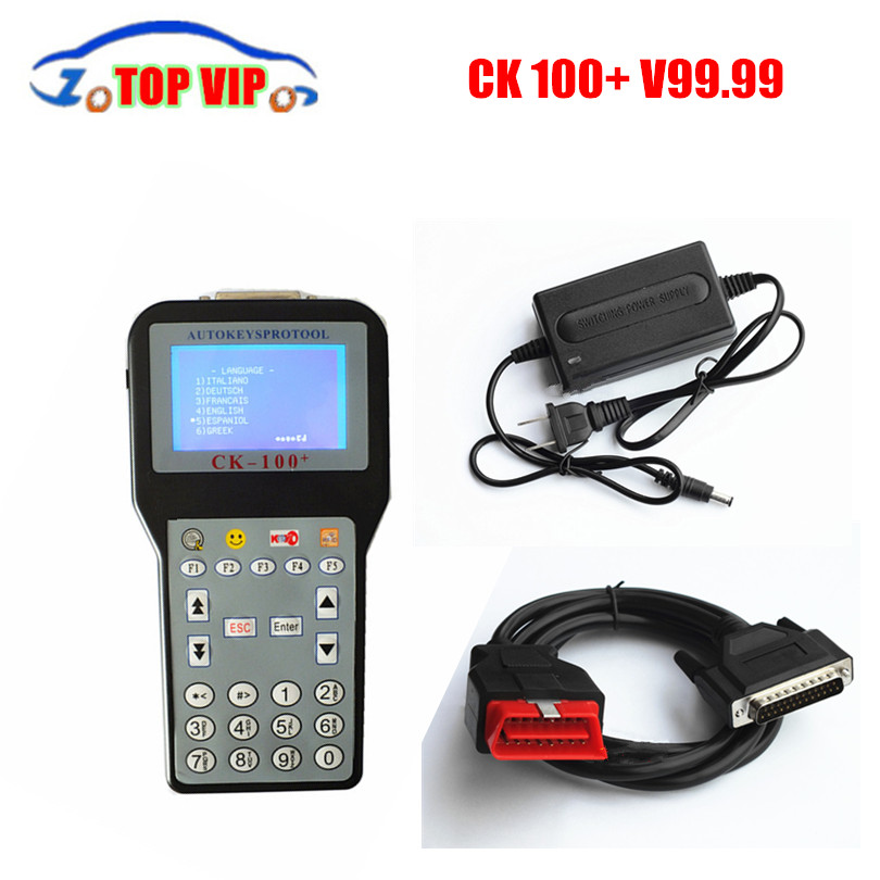 2018 New Generation CK100 Key Programmer V99.99 CK100 Auto Key Programmer No Tokens Limited CK-100 Car Key Maker High Quality