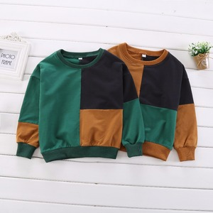 Image 5 - วัยรุ่นชายเสื้อยืด 2019 ฤดูใบไม้ร่วงฤดูใบไม้ผลิเด็กเต็มรูปแบบเสื้อ Casual ยาวแขนเสื้อเด็กเสื้อผ้าเสื้อ H212