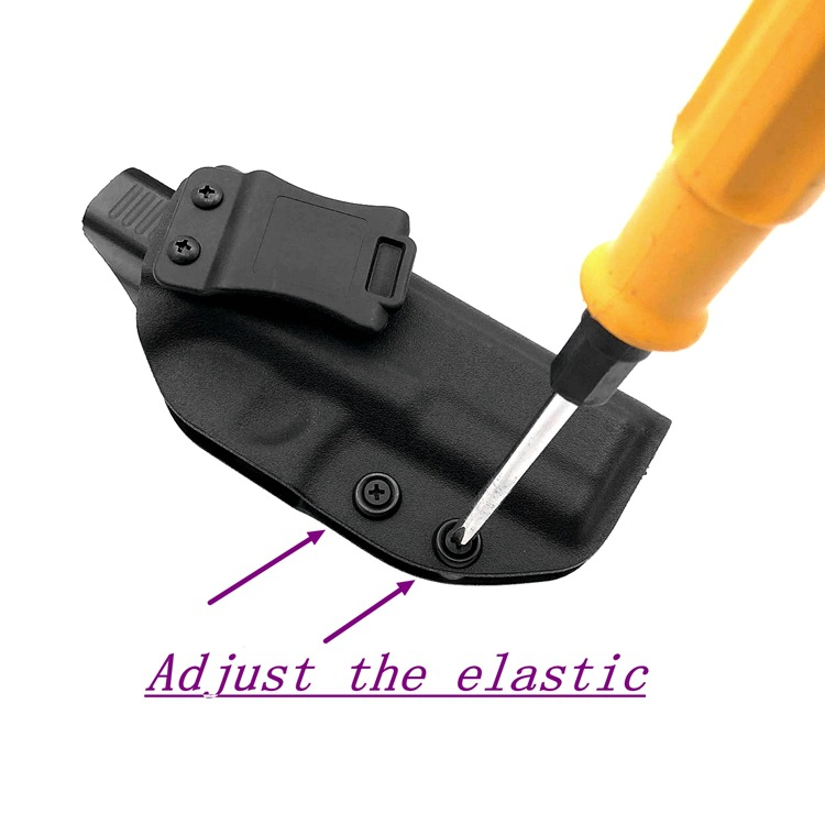 Image 4 - Ultimate Concealment Gun Holster Custom Molded For Glock 17/22/31-in Holsters from Sports & Entertainment