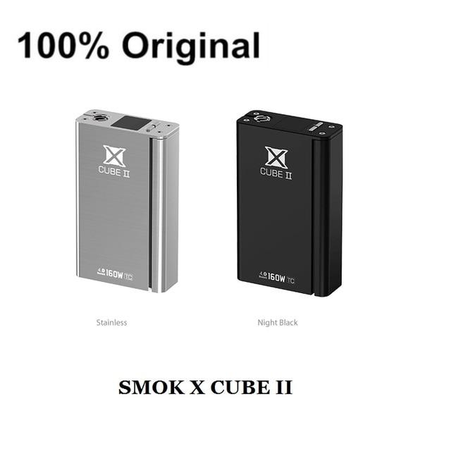 Original smok xcube ii 160 w caja mod control de temperatura somk x cubo 2 tc160w cigarrillo electrónico xcube ii