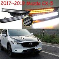 Dynamic Video LED CX 5 Day Light 2017 2018 CX 5 Fog Lamp CX 5 Head