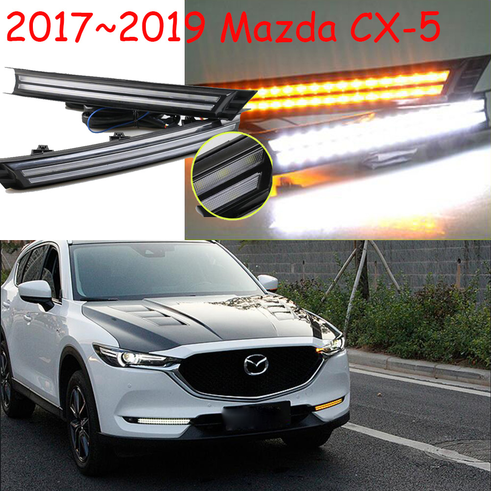 dynamic Video,LED,CX-5 day Light,2017~2018,CX-5 fog lamp,CX-5 head light;axela,atenza,CX5,CX 5,Car Styling,CX-5 tail light