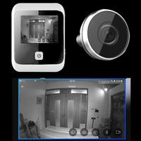3.0 inch 120 Degree Wide Angle Digital LCD Peephole Viewer Eye Doorbell Digital HD Eye Video Recorder 1MP Camera Recorder