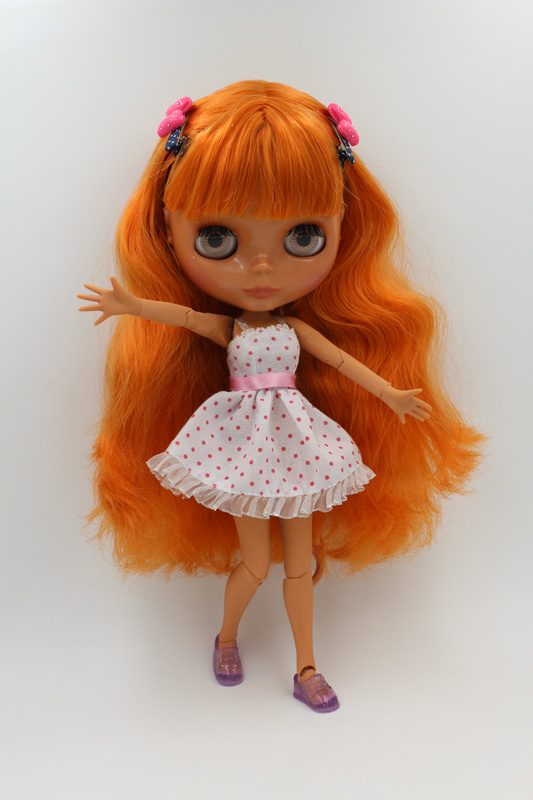 67 Doll Limited Gift Special Price Cheap Offer Toy Action & Toy Figures Free Shipping Top Discount 4 Colors Big Eyes Diy Nude Blyth Doll Item No