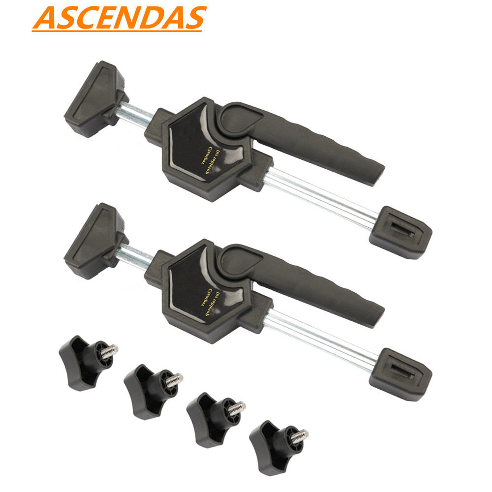 Adjustable Jigs & Fixtures for the Table Saw & Router Quick Release Grip Woodworking Clamp Fixed Jaw Parallel Clamp TP-0220Adjustable Jigs & Fixtures for the Table Saw & Router Quick Release Grip Woodworking Clamp Fixed Jaw Parallel Clamp TP-0220
