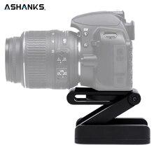 Ashanks Z Тип наклона штатива Flex складной Z кастрюлю для Canon Nikon Sony DSLR Камера Алюминий сплав Одежда высшего качества гарантировано из металла