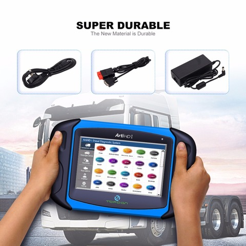 Topdon ArtiHD I Automotive Diagnostic Scan Tool for Heavy Duty and Commercial Vehicles with ECU Reprogram/Calibration Islamabad