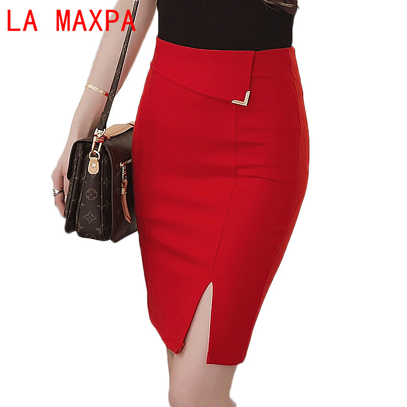 Summer <font><b>5xL</b></font> Size Office <font><b>Skirt</b></font> Female <font><b>Sexy</b></font> Elastic Women's <font><b>Skirts</b></font> With High Waist Pencil <font><b>Skirt</b></font> Office Vestidos De Verano 8067 image