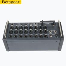 Betagear 18 канальный микшер mr18 аудио диджейское оборудование аудио микшерный пульт dj Studio Wifi usb микшерный пульт Цифровой звуковой микшер
