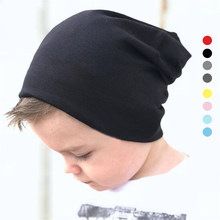 Baby Winter Warm Hat Bonnet Infant Kids Cotton Soft Hats Baby Boys Girls Caps meias infantil autumn hat 1- 4 years(China)
