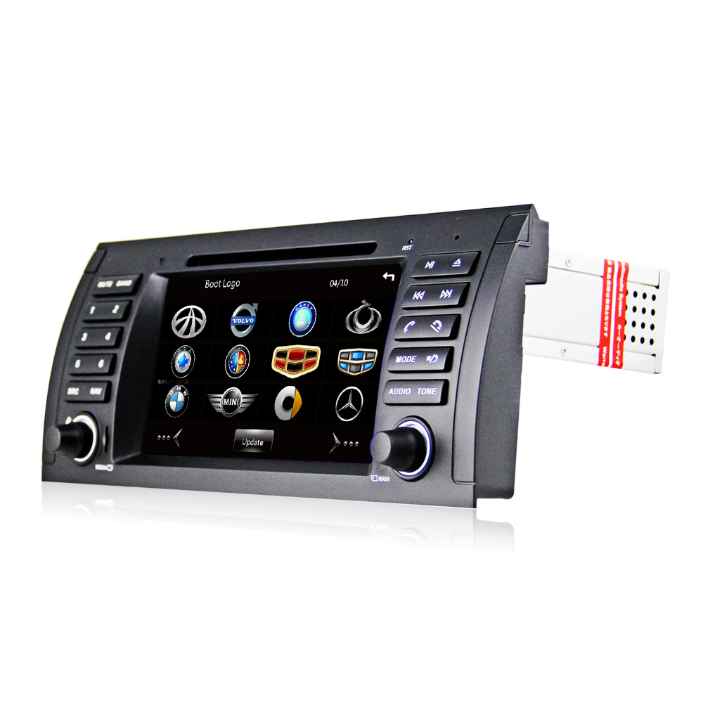 7 hd capacitive touch screen car dvd player gps navigation for bmw e39 e53 x5 bluetooth radio rds usb ipod with original bmw ui in car multimedia player