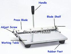 300mm Handleiding vouwen rillen machine voor papier lederen PU vel Lederen creaser NIEUWE