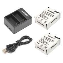 Batmax 2 pcs ahdbt-301 bateria recarregável + usb dual carregador ahdbt-302 para câmera gopro hero 3/3 hero3 hero3 hero3 go pro