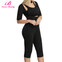 Lover Beauty Women S Full Body Shaper Underbust Post Surgery Firm Control Waist Cincher Thigh Reducer