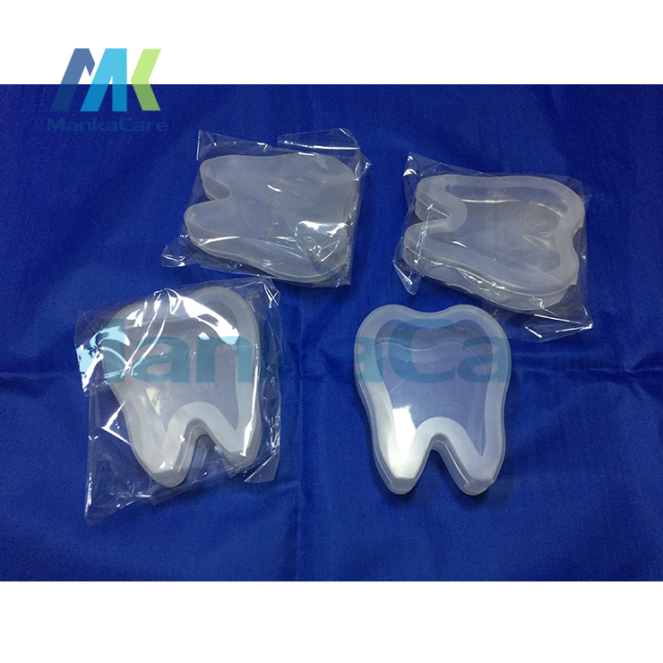 4 pcs tooth design boxes tooth shape Stationery box Office Accessories Home/School Stationery With Dental gift(China)