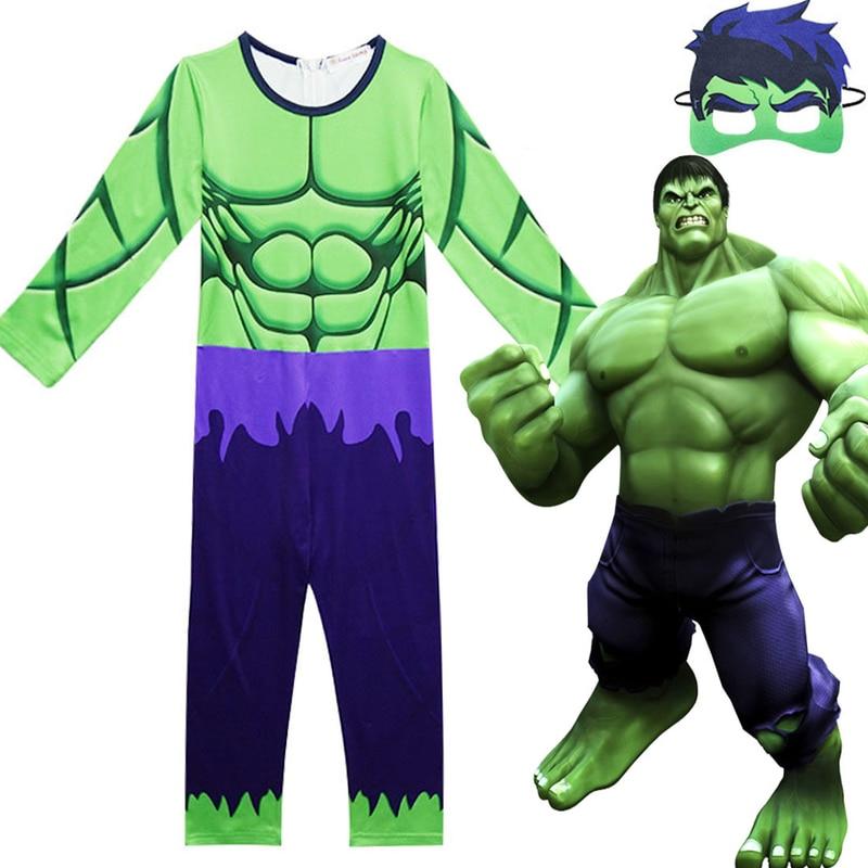 Criancas Hulk Avengers Infinito Guerra Roupas Vingadores Macacao