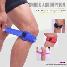 Aolikes 1 pçs joelho sliders banda ajustável pads suporte patela voleibol kneecap protetor esportes segurança rodilla guarda A-7919