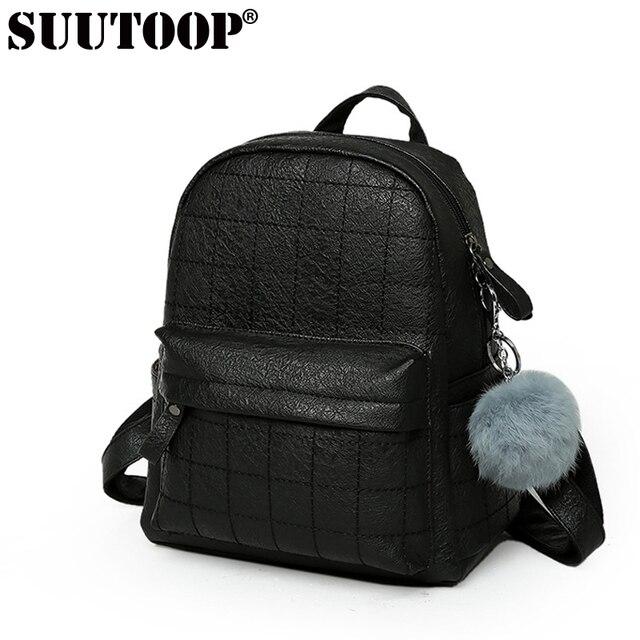 Fashion designed brand backpack leather school bag girl backpack ...