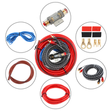 Car Audio Wire Wiring Kit Speaker Woofer Cables Power Amplifier Line with Fuse for Codification