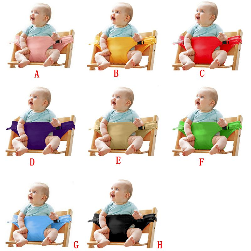 High Quality Portable Feeding High Lunch Chair Infant Baby Booster Seats Baby Feeding Chair Toddlers Children Safety Belt