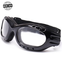 Universal Vintage Motorcycle Goggles Dustproof Ski Outdoor Sports Windproof Eyewear Glasses Protective Gear