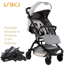 VIKI 6 9kg Smart Folding Baby Stroller Can be Take to Plane Baby Pocket Car Children