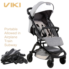 VIKI 6.9kg Smart Folding Baby Stroller Can be Take to Plane, Baby Pocket Car, Children Umbrella Car, Can Sit & Lie
