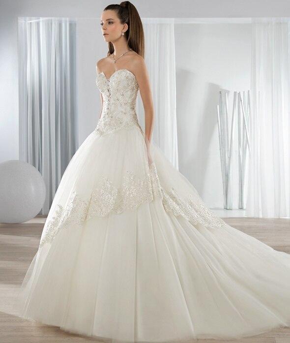 Cheap Elegant Wedding Dresses: Cheap!! Elegant Backless Ball Gown Lace Wedding Dress