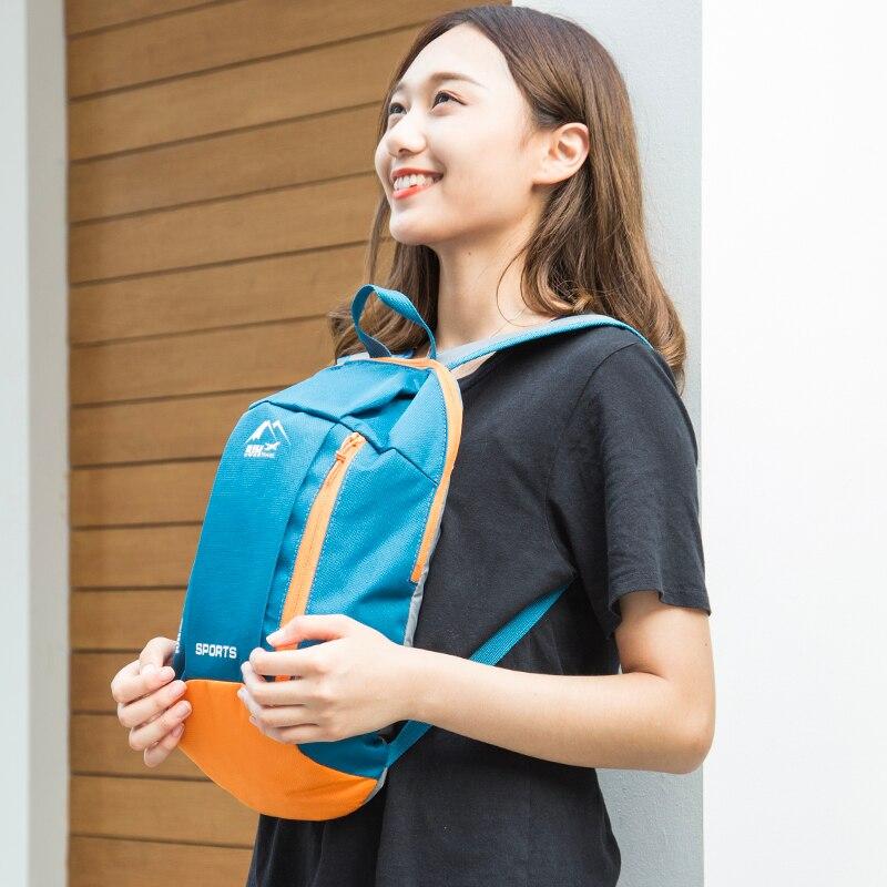 New Fashion Teenage Backpacks Children Schoolbags Ultralight Travel Bags Women Backpacks 6 Colors Nylon Waterproof Men Bags