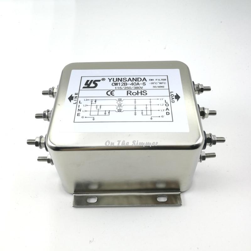 Three Phase Three Wire 380v Ac Power Filter  Servo
