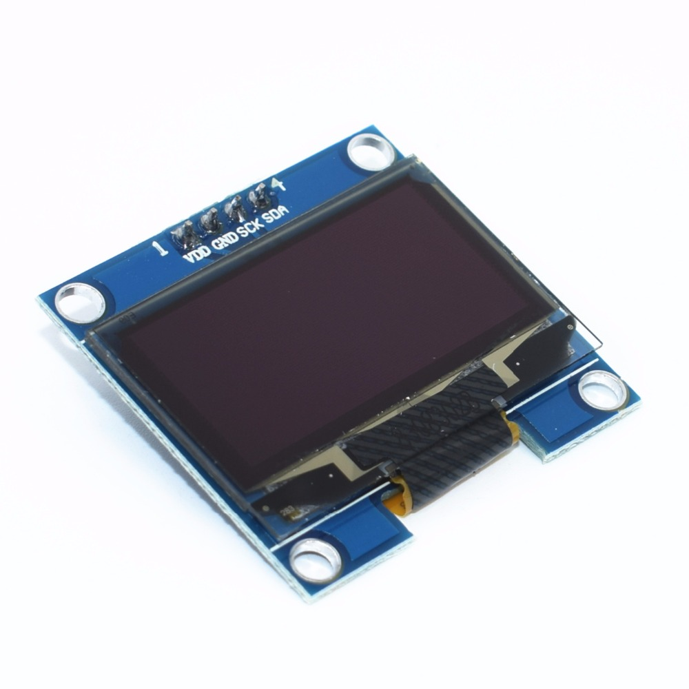 1.3 OLED module white/Blue color 128X64 1.3 inch OLED LCD LED Display Module 1.3 IIC I2C Communicate for arduino free shipping 1pcs yellow blue double color 128x64 oled lcd led display module for arduino 0 96 i2c iic serial new original