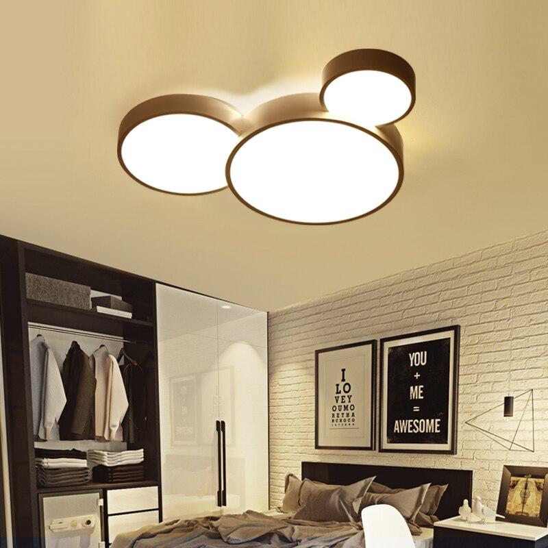 Salon Panneau Moderne Cuisine Lampe Led Plafonnier Chambre Luminaire ...