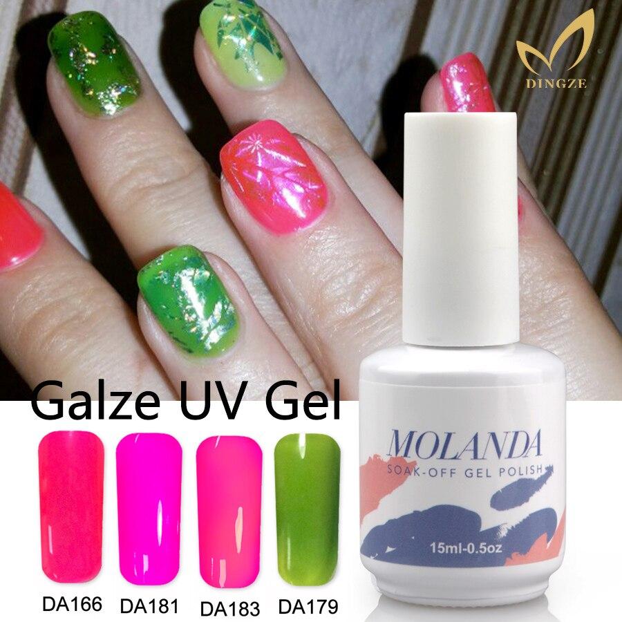 384 33 De Descuentolustrado Translúcido Led Gel Esmalte De Uñas Color Esmalte De Gel Manicura Francesa Para Arte De Uñas Gel Laca Profesional Uv