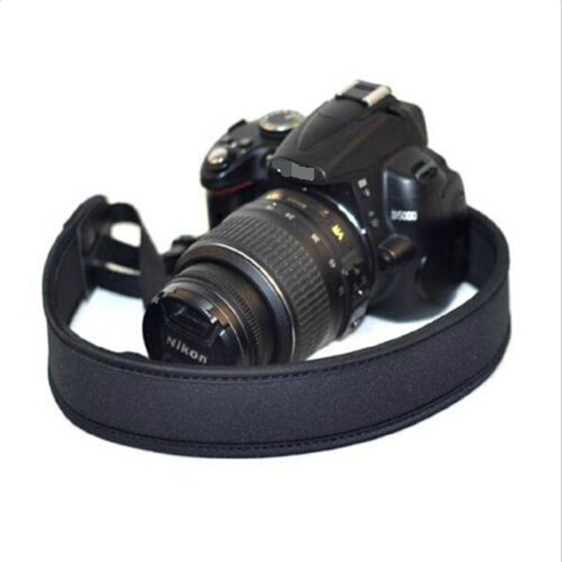 Adjustable Soft Neoprene Camera Shoulder Neck Strap For Canon Nikon Sony Pentax DSLR Camera 500d 600d 700d D5100 D3100 D90 D80