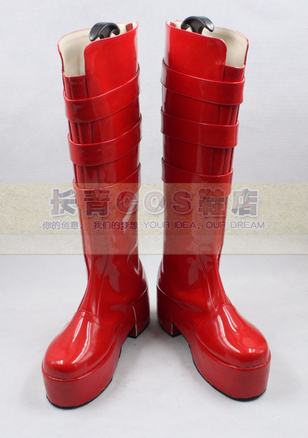 ONE PIECE Perona cosplay Shoes Boots Custom Made 7761