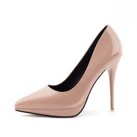 Women Pumps hot sale basic High Heels Shoes Female new popular Office Shoe Pointed Toe Wedding Party Shoes 202910766