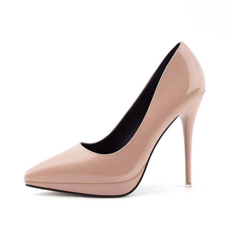 Femmes pompes offre spéciale chaussures à talons hauts de base femme nouvelle chaussure de bureau populaire bout pointu chaussures de fête de mariage 202910766