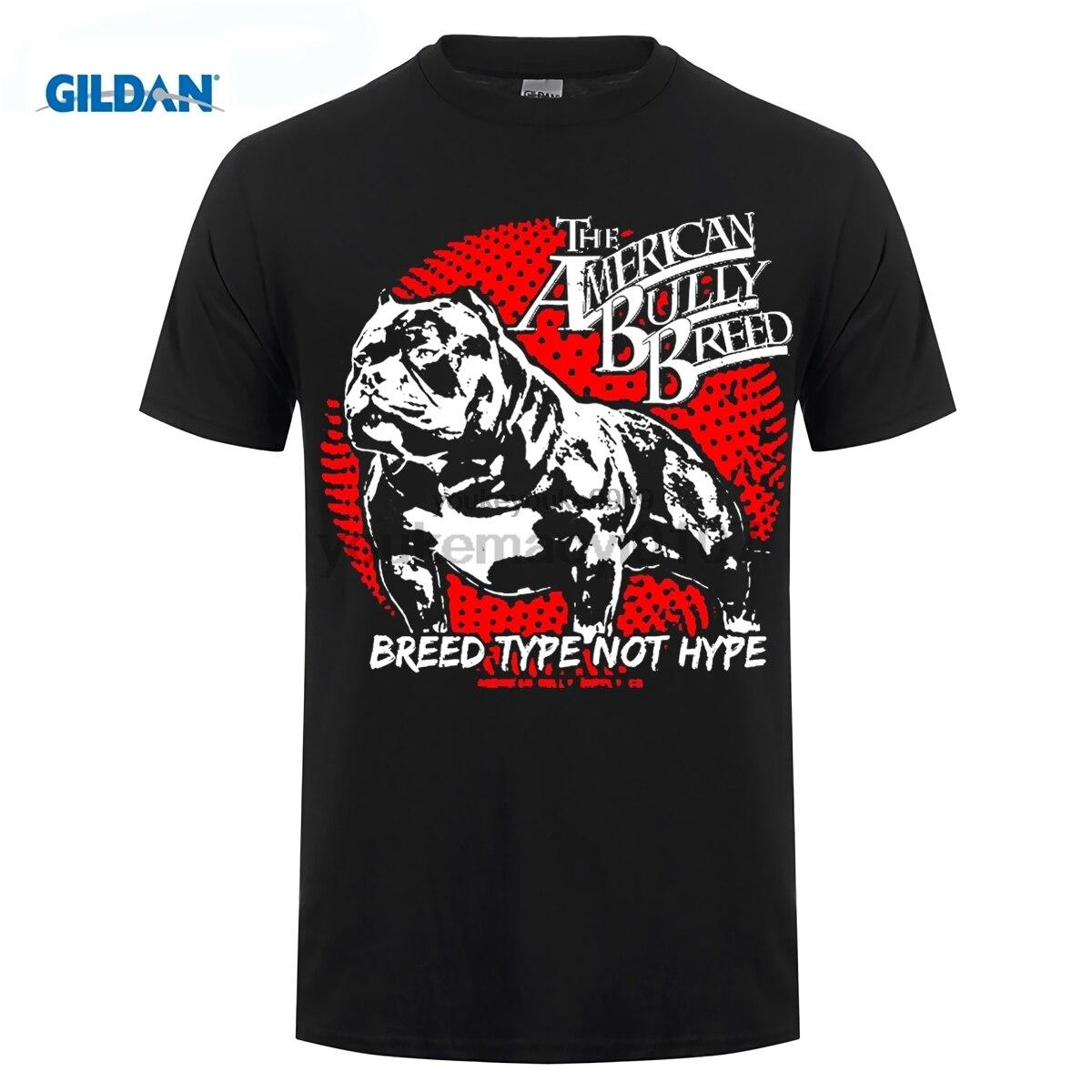 Возьмите 2017 г. футболка Для мужчин футболка различных цветов высокое качество породы питбуль американский хулигана Supply Co Для мужчин Графич...