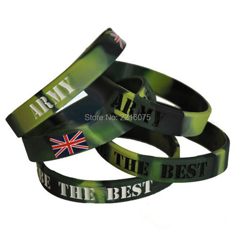 300pcs Army Be The Best Wristband Silicone Bracelets Free Shipping By Dhl Express In Cuff From Jewelry Accessories On Aliexpress Alibaba