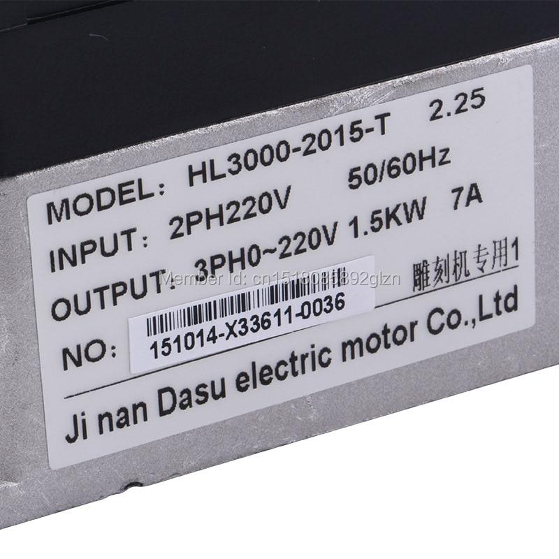 RITUO 1.5KW VFD convertidor de frecuencia de 220v 1.5kw VFD Variador - Piezas para maquinas de carpinteria - foto 3