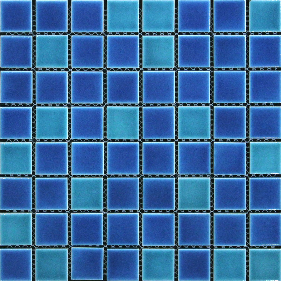 blue+green ceramic mosaic tile kitchen backsplash tile bathroom wall ...