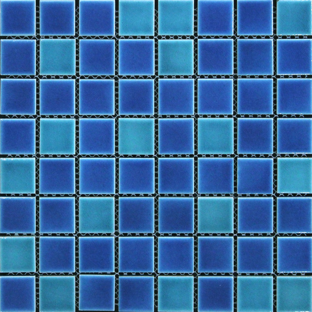 blue mosaic bathroom tiles aliexpress buy blue green ceramic mosaic tile 17468