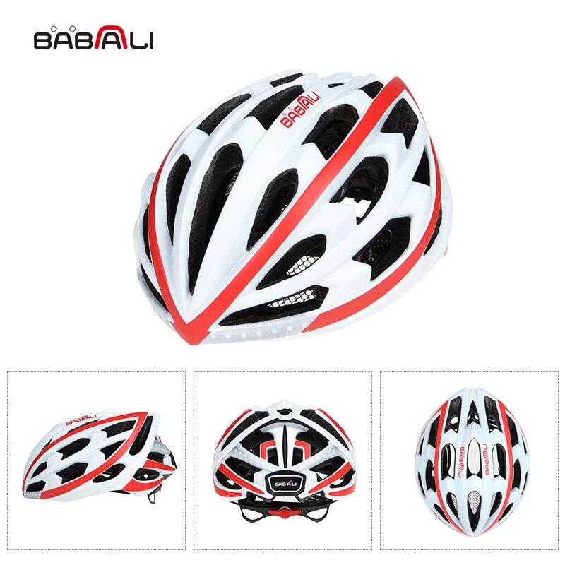 BABAALI шоссейный велосипед шлем ультралайт Световые индикаторы взрослые велосипедные шлемы 33 вентиляционные отверстия дышащие шлемы