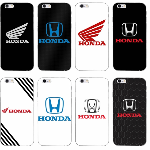 the latest 52d4c 991cc cool car Honda H wing logo slim Soft phone case For iPhone 4 4s 5 5s 5c SE  6 6s plus 7 7plus 8 8plus X