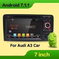 Android 7 1 Two Din 7 Inch Car DVD Player Multimedia For A3 2003 2011 Canbus