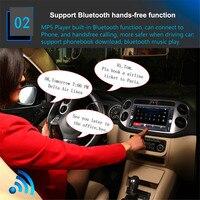 7651D 6.6 Inch Car 2 DIN Bluetooth FM Radio Stereo In dash High definition Digital Touch screen Media Car MP5 Player