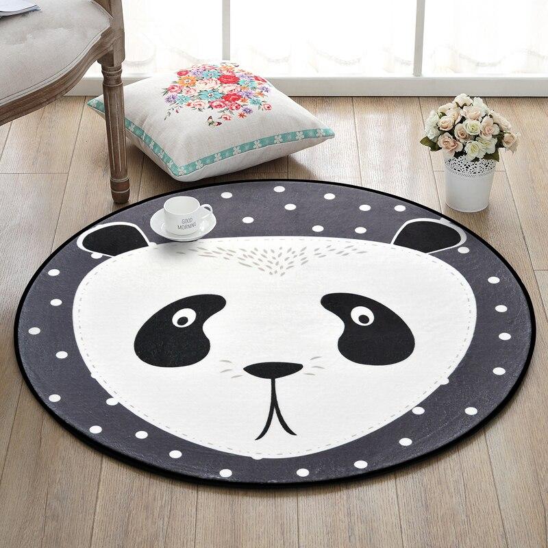 Panda cinese Rotonda Tappeti Per Soggiorno Fumetto Tappeti Per ...