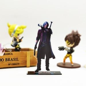 Image 2 - Amour merci diable Cry 5 Dante DMC acrylique support figure modèle support de plaque gâteau topper anime jeu